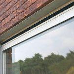 Ventilatieroosters in ramen voor een ventilatiesysteem C