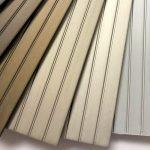 Ramen in geanodiseerd aluminium